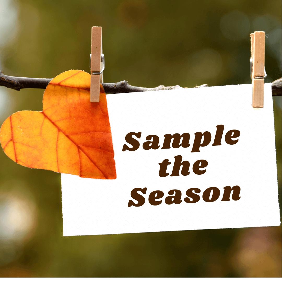 sample the season package